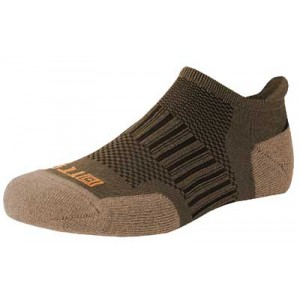 5.11 Tactical Recon Ankle Socks, L/xl, Timber 10010