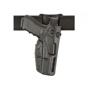 """Safariland 7285 Low Ride Right-Hand Belt Holster for Glock 17 in STX Plain (4.5"""") - 7285-83-411"""