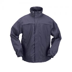 5.11 Tactical Dry Rain Shell Men's Full Zip Jacket in Dark Navy - Large