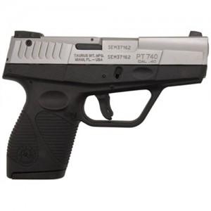 "Taurus 740 .40 S&W 6+1 3.2"" Pistol in Stainless (Slim) - 1740039"