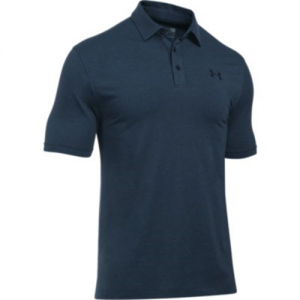 Under Armour Tactical Charged Men's Short Sleeve Polo in Dark Navy Blue - Medium