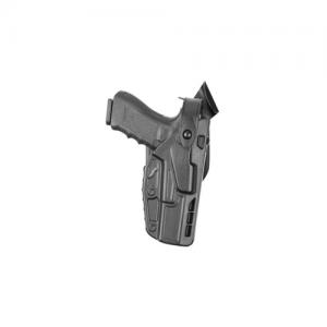 7TS ALS Level III Retention Mid-Ride Duty Holster Belt Size: 2.25  Finish: STX Plain Gun Fit: Heckler & Hoch VP9 Hand: Right - 7360-593-411