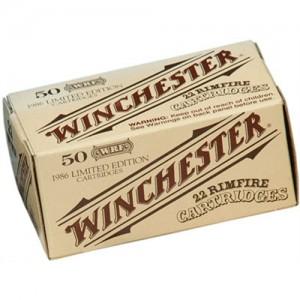 Winchester 22 Super X Rimfire Lead Flat Nose 45 Grain 50 Round Box 22WRF