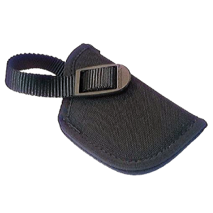 Uncle Mike's Sidekick Left-Hand Belt Holster for Small Autos (.22-.25 Cal.) in Black (43010) - 81102