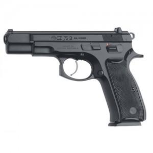 """CZ 75 B 9mm 10+1 4.7"""" Pistol in Black - 1102"""