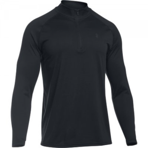 Under Armour Tech Men's 1/4 Zip Long Sleeve in Black - 2X-Large