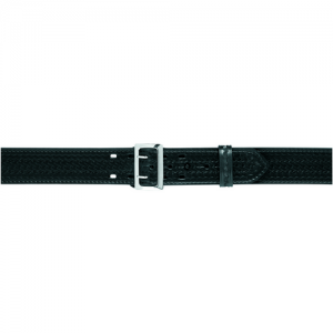 Safariland Sam Browne Style Stitched Edge Duty Belt in Basket Weave - 38