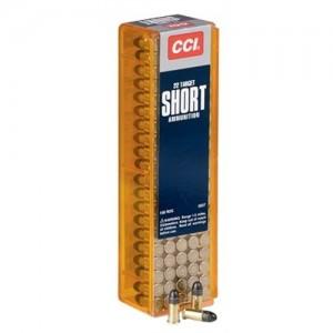 CCI 22 Short 29 Grain Round Nose, 100 Round Box, 0037