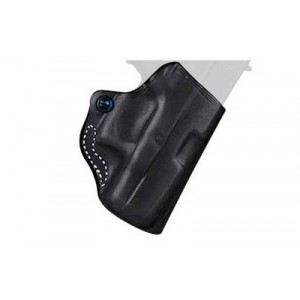Desantis Gunhide 19 Mini Scabbard Right-Hand Belt Holster for Ruger LCP in Black Leather (W/ Crimson Trace) - 019BAQ2Z0