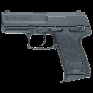 """Heckler & Koch (HK) USP45C .45 ACP 8+1 5.83"""" Pistol in Polymer (Compact V7) - 704537A5"""