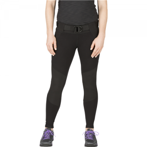 5.11 Tactical Raven Range Tight Women's Compression Pants in Black - Large