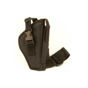Bulldog Cases Pro Tactical Leg Holster, Fits Medium/large Frame Auto Handgun, Right Hand, Black Wtac 7r - WTAC 7R