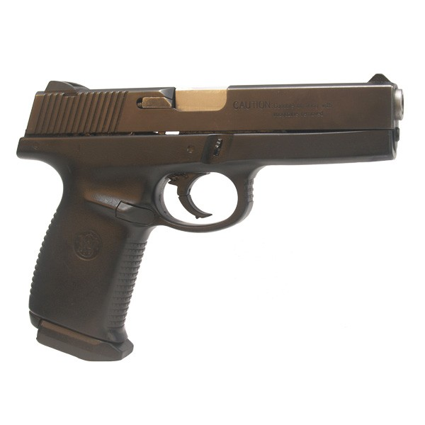 """Pre-Owned Smith & Wesson Model SW9F 9mm Luger (Parabellum) Semi-Automatic Pistol witrh 4.5"""" Barrel, 17+1 Capacity and Factory Checkered Grips"""