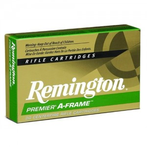 Remington .375 H&H Magnum A-Frame Pointed Soft Point, 300 Grain (20 Rounds) - RS375MA