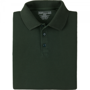 5.11 Tactical Professional Men's Short Sleeve Polo in LE Green - Large
