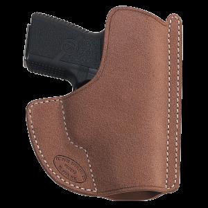 El Paso Saddlery HSGRR High Slide Glock Full Size/Compact 17/19/22/23 Leather Russet - HSGRR