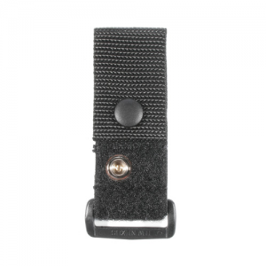 EPAULET MIC CARRIER  Epaulet Mic Carrier Black, Positions microphone for easy one-handed operation