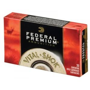 Federal Cartridge Vital-Shok Medium Game .280 Remington Trophy Bonded Tip, 140 Grain (20 Rounds) - P280TT2