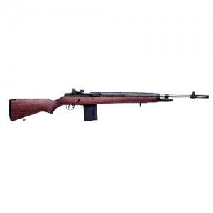 "Springfield M1A Loaded .308 Winchester 10-Round 22"" Semi-Automatic Rifle in Stainless Steel - MA9822"