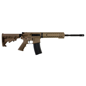 "Diamondback DB15 .300 AAC Blackout 10-Round 16"" Semi-Automatic Rifle in Black - DB15300FDE-C"