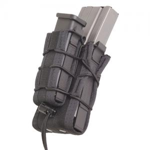 High Speed Gear Belt Mounted Double Decker TACO Magazine TACO in Black - 13DD00BK