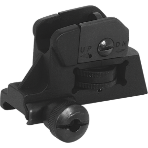NCStar AR15 Detachable Rear Sight AR-15 Black