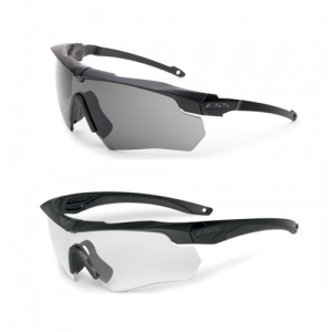 Crossbow Suppressor 2X (Clear and Smoke Gray) - Black frames.