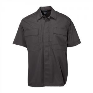 5.11 Tactical TDU Men's Uniform Shirt in Black - 2X-Large