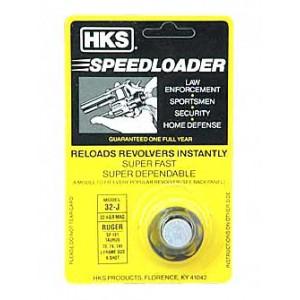 Hks Speedloader, 32 H&r, Fits Taurus 73, Ruger Sp10,1 Black 32j