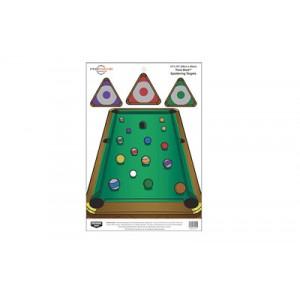Birchwood Casey Pregame Target, Trickshot, 12x18, 8 Targets 35568