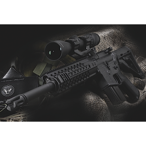 "Wilson Combat Recon Tactical 6.8 SPC 15-Round 16"" Semi-Automatic Rifle in Black - WCR6816"