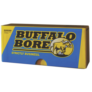 Buffalo Bore Ammunition Premium Supercharged .358 Winchester Spitzer Boat Tail, 225 Grain (20 Rounds) - 41A/20