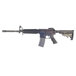 "High Standard HSA-15 Custom .223 Remington/5.56 NATO 30-Round 16"" Semi-Automatic Rifle in Black - R6551MAG"
