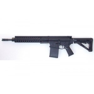 "DRD Tactical LLC M762 Quick Take Down .308 Winchester/7.62 NATO 20-Round 16"" Semi-Automatic Rifle in Black - M76216BLK"
