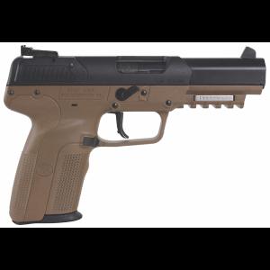 "FN Herstal Five-Seven 5.7x28mm 20+1 4.75"" Pistol in Flat Dark Earth (3-Dot Adjustable Sights) - 3868929230"