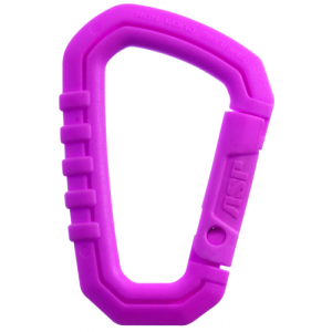 Carabiner - Neon Pink (Polymer)