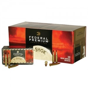 Federal 22 Winchester Magnum Rimfire 30 Grain Jacketed Hollow Point, 50 Round Box, P765
