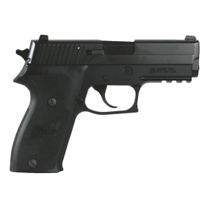 "Sig Sauer P220 Carry CA Compliant .45 ACP 8+1 3.9"" Pistol in Black Nitron (SIGLITE Night Sights) - 220R345BSSCA"