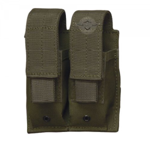 5ive Star Gear  MPD-5S Double Pistol Magazine Pouch Magazine Pouch in OD Green - 6465000