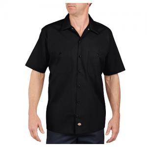 Dickies Work Shirt Men's Uniform Shirt in Black - Medium