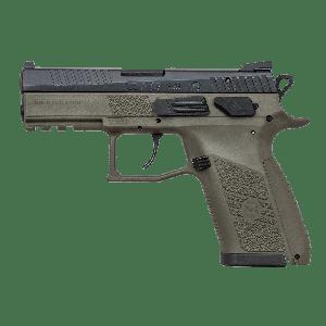 "CZ P-07 9mm 15+1 3.75"" Pistol in OD Green - 91077"