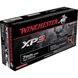 Winchester 7mm Winchester Short Magnum Supreme Elite XP3, 160 Grain (20 Rounds) - SXP7WSM