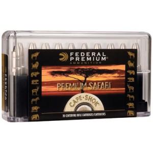 Federal Cartridge Cape-Shok Dangerous Game .375 H&H Magnum Swift A-Frame, 300 Grain (20 Rounds) - P375SA