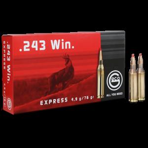 Ruag Ammotec Usa Inc .243 Winchester Express Tip, 76 Grain (20 Rounds) - 283440020