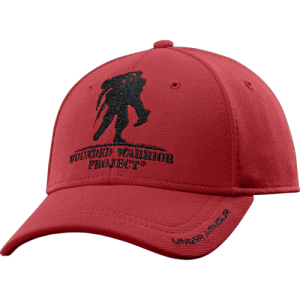 Under Armour WWP Cap in Red/Black - One Size Fits Most