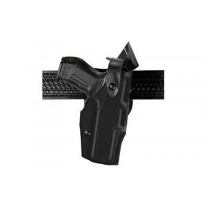 Safariland 6360 Level 2 Right-Hand Belt Holster for Glock 17, 22, 19, 23 in STX Black Tactical (W/ Streamlight M3) - 6360-832-131