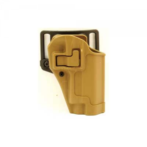 Serpa CQC Concealment Holster Color: Coyote Tan Gun Fit: Springfield XD .45 Compact & XD (4  BBL) Hand: Right - 410507CT-R