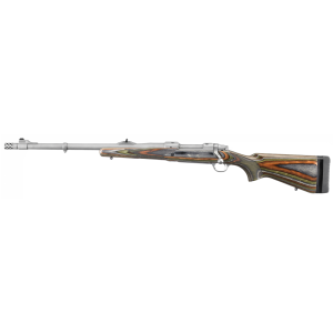 "Ruger M77 Guide Gun .375 Ruger 3-Round 20"" Bolt Action Rifle in Stainless - 47124"