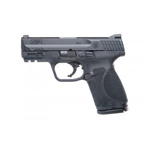 """Smith & Wesson M&P M2.0 Compact 9mm 15-Round 3.6"""" Pistol in Black Armornite (No Manual Safety) - 11688"""