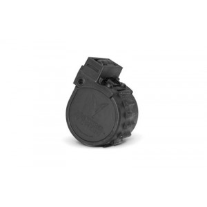 Adaptive Tactical Drum Magazine, 12 Gauge, 10rd, Fits Sidewinder Venom, Black Finish At-00902
